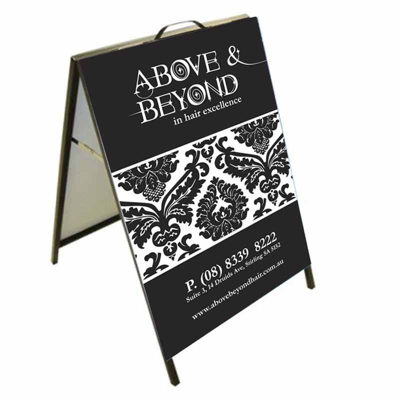 Above & Beyond Hair A Frame