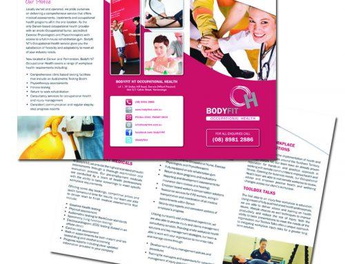 A4 – 2 Fold Brochure