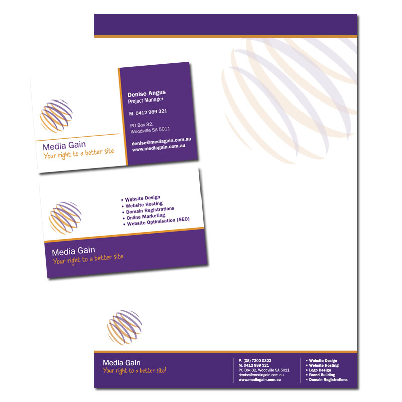 Media Gain Stationery